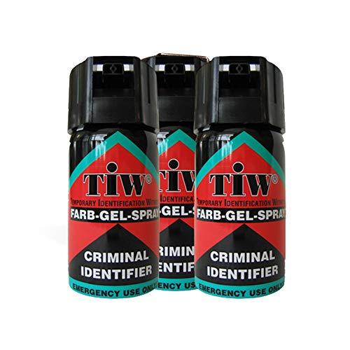 Multi Farb Gel Personal Self Defence Spray - Red Dye - UK Legal Emergency Spray (3) BR1460