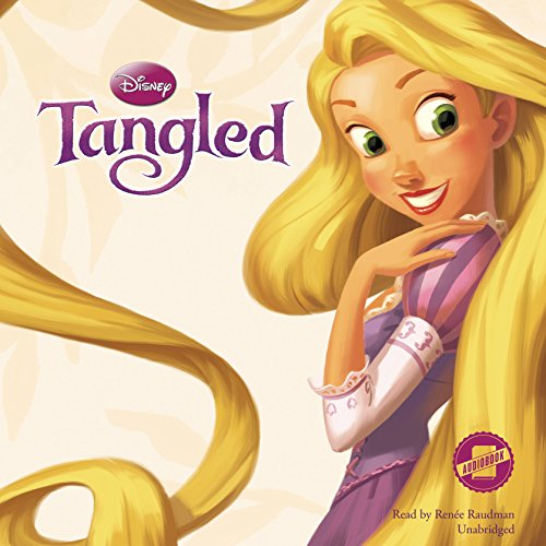 Tangled audiobook cover art