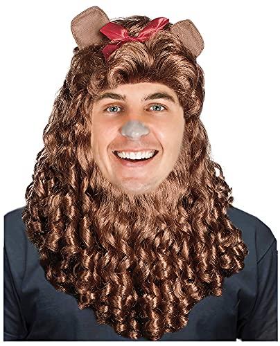 Lion Wig Lion Costume Mane Adult Lion Costume Cowardly Wig Costume Lion Mane Lion Costume Adult Male Lion Mane Wig Women Lion Mane Wig Cowardly Costume Wig