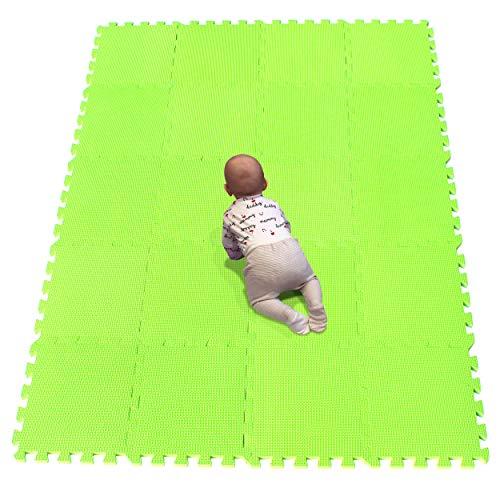 YIMINYUER Alfombra puzles para Bebe Puzzle Infantil Suelo Piezas Goma eva ninos de Suelo Grande Infantiles Pastoverde R15G301020