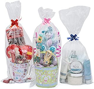 cellophane hamper bags