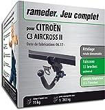 Rameder Attelage rotule démontable pour CITROËN C3 AIRCROSS II + Faisceau 13...