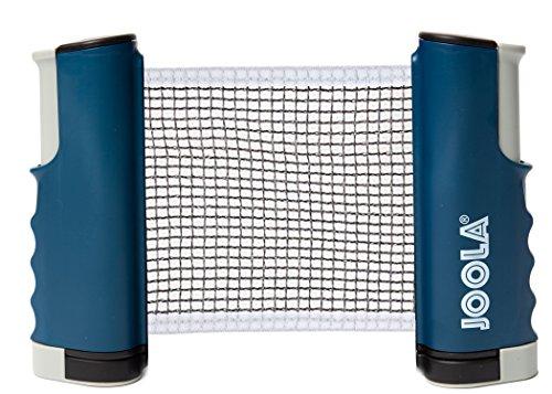 JOOLA Retractable Portable Table Tennis Net and Post Set (Adjustable Length) - Play Ping Pong Anywhere