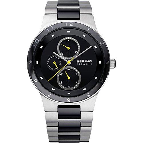 BERING Reloj Analógico para Hombre de Cuarzo con Correa en Acero Inoxidable 32339-722