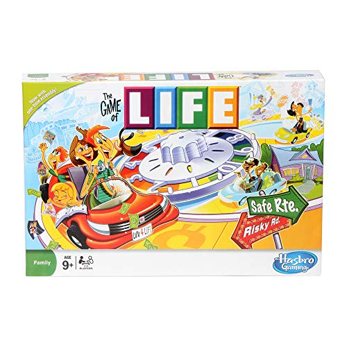 Hasbro Gaming The Game of Life, Family Board Game for 2-4 Players, Indoor Game for Kids Ages 8 and Up