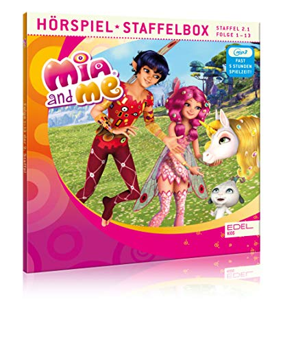 Mia and me - Staffelbox 2.1 (mp3-CD) - Folge 1 - 13