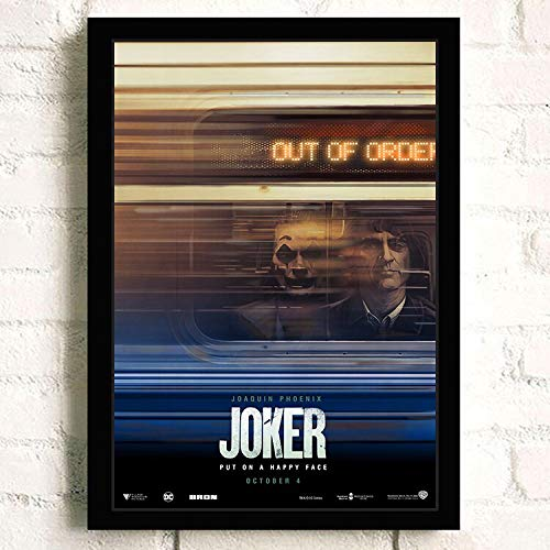 IHlXH Joker Joaquin Phoenix Heide Ledger DC Film Comics Wandkunst Gemälde Druck auf Leinwand Bar Zimmer Poster Bilder Wohnkultur 5 60 x 85 cm Kein Rahmen