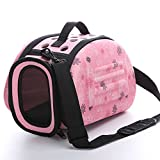 Foldable Pet Dog Carrier Cage Collapsible Travel Kennel - Portable Pet Carrier Outdoor