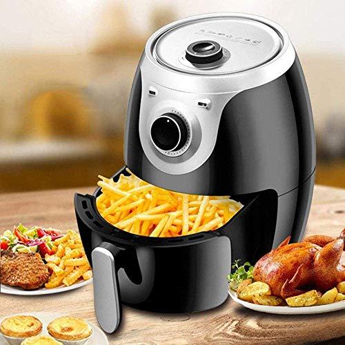 4,5 l de aire sin aceite de la freidora eléctrica de aire caliente Freidora Horno casa patatas fritas de la máquina, totalmente automático, con instantánea de temperatura / tiempo de control, 1300w HA