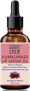 BARBERS CREW Kumkumadi Lip Serum for Lip Lightening & for Damaged Lips, 30ml