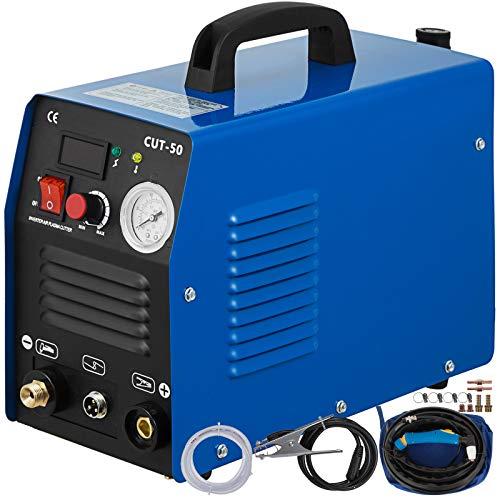 Mophorn Plasmaschneider CUT-50 HF Inverter Plasmaschneidgerät bis10mm 230V 50Amp