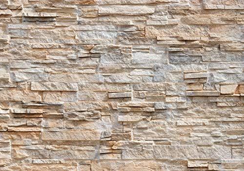 decomonkey Fototapete Steinwand Stein 350x256 cm XXL Design Tapete Fototapeten Tapeten Wandtapete moderne Wand Schlafzimmer Wohnzimmer Ziegel Ziegelstein