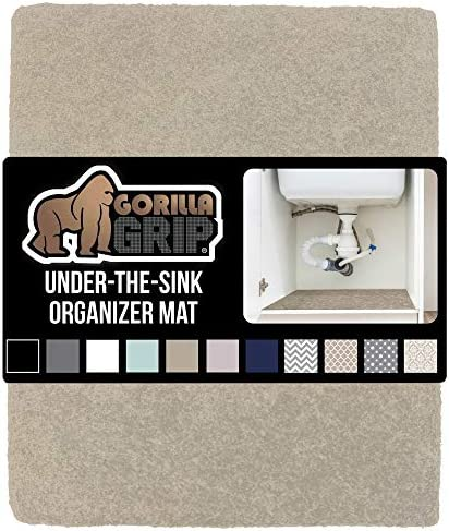 Gorilla Grip Original Premium Under Sink Mat Liner 24x40 Non Adhesive Absorbent Organizer Mats product image