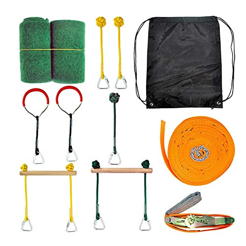 Read About Bliev Kids Slackline Obstacle Kit Children Balance Training Set Training Equipment Obstac...