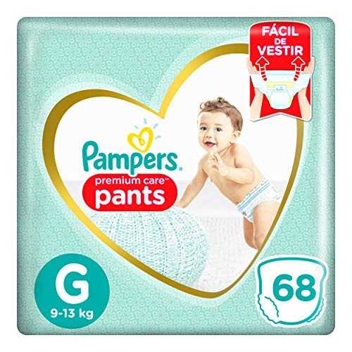 Fralda Pampers Pants Premium Care G 68 Unidades, Pampers