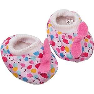 Heless 1947 Zapatos de bebé para muñeca pequeña
