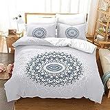 Bedclothes-Blanket Juego sabanas de Cama 150,Conjunto de Ropa de Cama de Tres Piezas de impresión Digital Floral.-dieciséis_150 * 200
