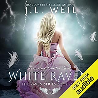 White Raven audiobook cover art