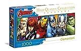 Clementoni–Disney Panorama Collection The Avengers Puzzle, 1000Piezas (39442