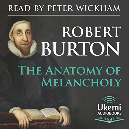 The Anatomy of Melancholy audiobook cover art