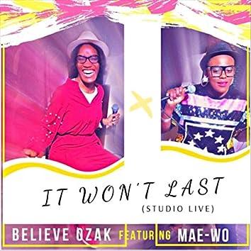 It Won't Last (feat. Mae-Wo)