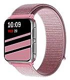 Wengerui Compatible avec pour Watch Bracelet 42mm,Bandeau Boucle Sport Nylon Tissé...