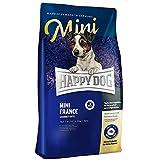 HAPPY DOG (ハッピードッグ) スプリーム・ミニ フランス (鴨肉) グルテン、グレインフリー 小型犬用 アレルギーケア 成犬〜シニア (1kg)