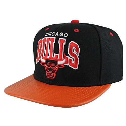 Mitchell & Ness MVP Chicago Bulls Snapback Cap in Black/Orange ONE SIZE