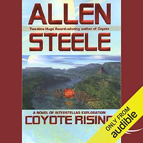 Coyote Rising audiobook cover art