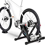 Topeakmart Indoor Bicycle Bike Trainer Exercise Stand Training Wheels Resistance Stationary w/Quick...