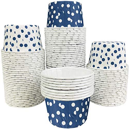 mini baking cups blue - 8