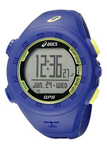 Asics AG01 GPS Herren-Sportuhr Blau Kunststoffarmband CQAG0102Y