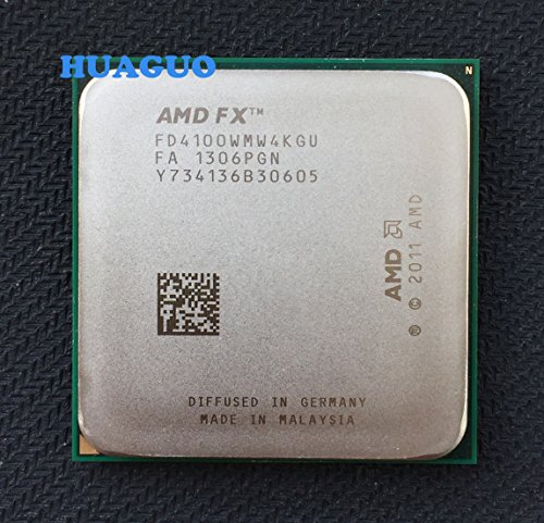 AMD FX-Series FX 4100 3,6 GHz Quad-Core CPU procesador fd4100wmw4kgu Socket AM3 +