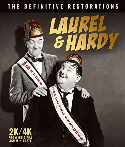Laurel & Hardy: Definitive Restorations (4 Blu-Ray) [Edizione: Stati Uniti]