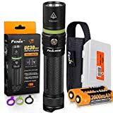 Fenix UC30 2017 Edition 1000 Lumen LED USB Rechargeable LED Flashlight - UC30 Upgrade - Includes 2 Rechargeable Batteries plus Lumen Tactical Battery Organizer