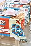 EKEA-Home;Algodón Hogar Decorativo Fresco Bold Floral Impreso Aislamiento Taza Mat Moda Posavasos Mantel, algodón,, 60 * 60cm