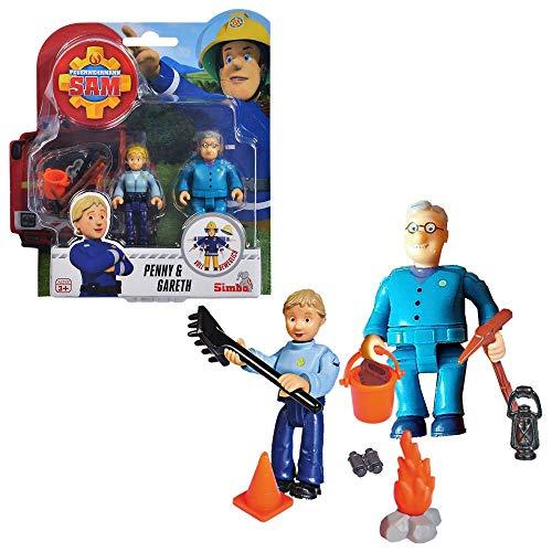 ★ Feuerwehrmann Sam Spielfiguren Set | Simba Toys (Penny & Gareth)