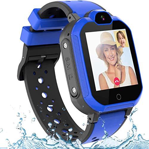 WFGZQ Reloj Inteligente para Hombres Y Mujeres, Rastreadores De Ejercicios HD Full Touch De 1.3 '' con Monitor De Frecuencia Cardíaca Y Sueño, para Teléfono iPhone Android