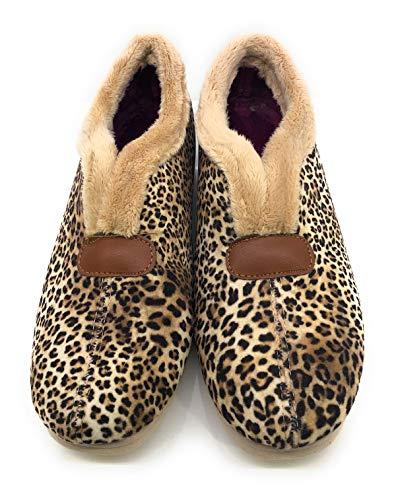 BUONAROTTI Zapatilla - Mujer Color Leopardo Talla 37