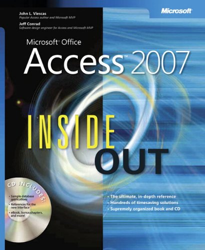 Microsoft Office Access 2007 Inside Out Book/CD Package