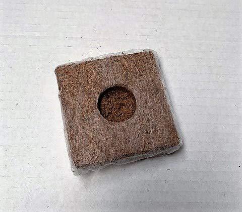 85 St. Jiffy Original Kokos Growblocks 70x70x40 mm im Beutel - Aussaaterde, Anzuchterde, Kokostablette - Kokos-Quelltöpfe
