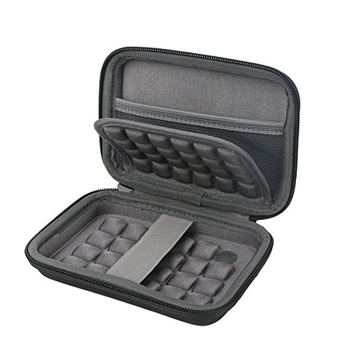 Khanka Hard Storage Carrying Travel Case Bag for Polaroid Zip/Snap Touch Mobile Printer w/Zink Zero Ink Printing Technology - Black