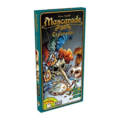 Asmodee–Kartenspiel Mascarade der Expansion (ade0mas02ml)
