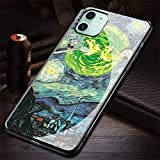 HZZAWDHL Cover iPhone 12 Case Case/Cover iPhone 12 PRO Case Tempered Glass Phone Case St AR WA Rs R-006