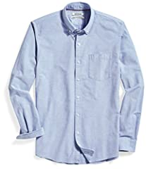 "Made in China This classic, versatile shirt provides a clean, buttoned-up look with a special wash for a soft feel and maximum comfort Model is 6'1"" and wearing a size Medium Standard Fit: room in the chest, tapered through the waist for a tailored s..."