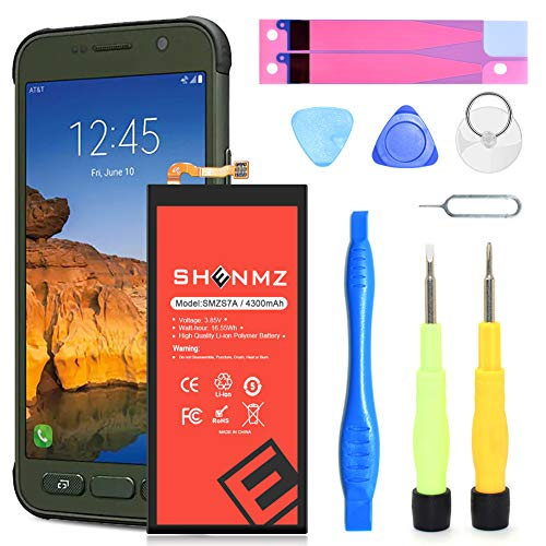 Galaxy S7 Active Battery,[Upgraded] 4300mAh Li-Polymer EB-BG891ABA Replacement Battery for Samsung Galaxy S7 Active G891 EB-BG891ABA with Screwdriver Tool Kit