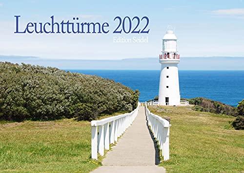 Edition Seidel Leuchtturme Premium kalender 2022 DIN A4 wandkalender zee strand eilanden