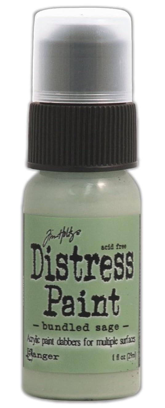 Ranger TDD-36333 Tim Holtz Distress Paint Bottle, 1-Ounce, Bundled Sage