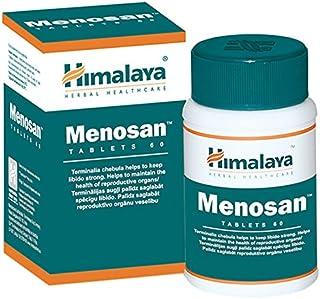 Himalaya Menosan, Alivia la incomodidad de la menopausia - Promueve el equilibrio hormonal general, 60 tabletas