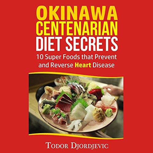 Okinawa Centenarian Diet Secrets audiobook cover art